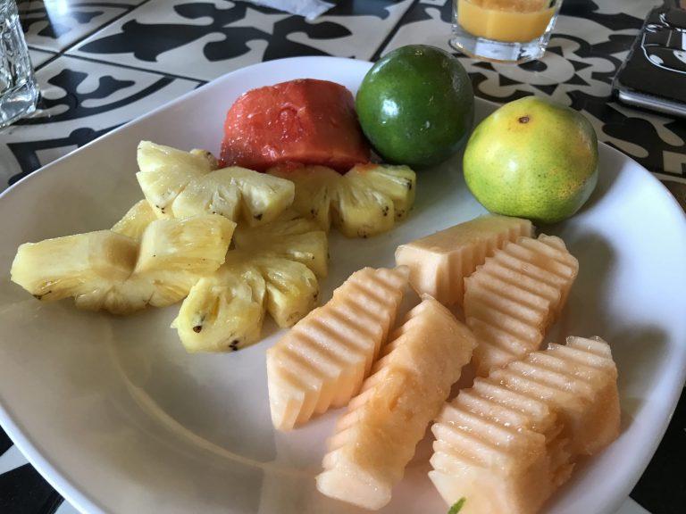 ホリデイインエキスプレスクラビの朝食