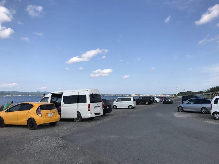 沖ノ島 駐車場