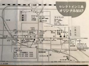 ホテルセレクトイン三島 駐車場